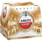 Amstel Light 12 pk bottles