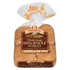 Arnold 100% Whole Wheat Hamburger Buns 8 pk