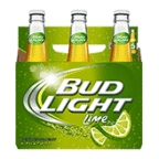 Bud Light Lime 6 pk bottles
