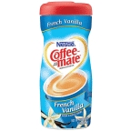 Coffee Mate French Vanilla Powder 15 oz