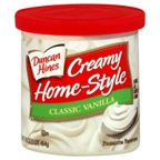 Duncan Hines Homestyle Classic Vanilla Frosting