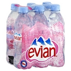 Evian 6 pk 1.05 pt
