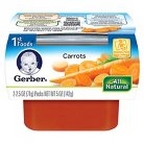 Gerber - 1st - 2 pack 2.5oz each - Carrots