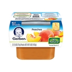 Gerber - 1st - 2 pack 2.5oz each - Peaches