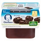 Gerber - 1st - 2 pack 2.5oz each - Prunes
