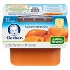 Gerber - 1st - 2 pack 2.5oz each - Sweet Potatoes