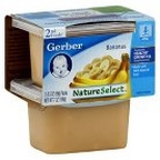 Gerber - 2nd - 2 pack 3.5oz each - Bananas