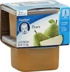 Gerber - 2nd - 2 pack 3.5oz each - Pears
