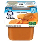 Gerber - 2nd - 2 pack 3.5oz each - Sweet Potatoes