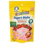 Gerber - Graduates - 1 oz - Yogurt Melts - Strawberry