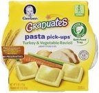 Gerber Graduates Pasta Pick-Ups - 6oz - Turkey & Vegetable Ravioli