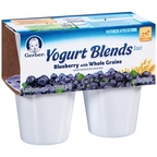 Gerber Graduates Yogurt Blends Blueberry 4 pk