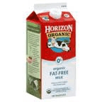 Horizon Organic Fat Free Milk 1/2 Gallon