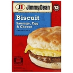 Jimmy Dean - Sausage Biscuit 10 ct