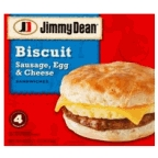 Jimmy Dean - Sausage Egg & Cheese Biscuit 4 ct