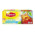 Lipton Iced Tea Bags Family Size 24 ct