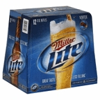 Miller Light 12 pk bottles