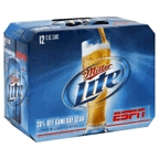 Miller Light 12 pk cans