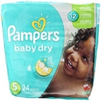 Pampers Baby Dry Jumbo - 5  24 ct
