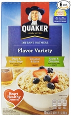 Quaker Instant Oatmeal Flavor Variety 10 pk