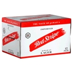 Red Stripe 12 pk bottles