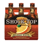 Shock Top Belgian White 6 pk bottles
