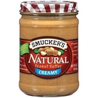 Smuckers Natural Creamy Peanut Butter 16 oz
