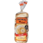 Thomas Bagels Plain 6 pk
