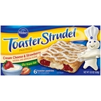 Toaster Strudel - Cream Cheese & Strawberry 6 ct